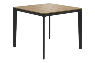 Carver square table  by  Gloster Furniture