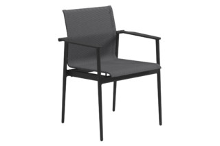 180 Stacking Chair with Arms  by  Gloster Furniture