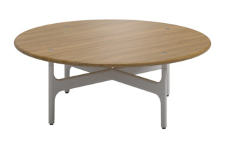 Grand Weave Round Coffee Table  by  Gloster Furniture