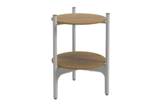 Grand Weave Round Side Table  by  Gloster Furniture
