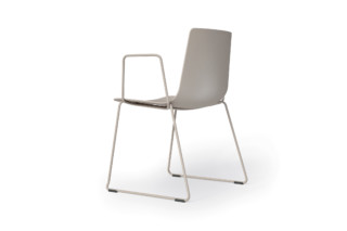 slim chair sledge arm  by  Alias