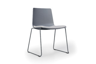 slim chair sledge  by  Alias