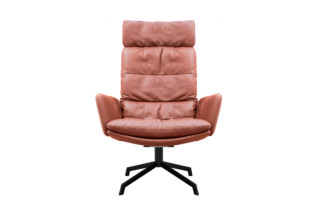 Arva Lounge Sessel mit Kreuzfuß  von  KFF