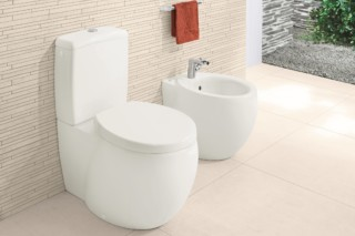 Washdown floor-standing WC Aveo New Generation  by  Villeroy&Boch Bath&Wellness