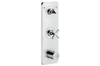 Axor Citterio E Thermostatic module 380/120 for 2 outlets for concealed installation  by  Axor