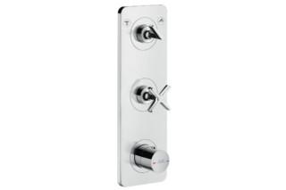Axor Citterio E Thermostatmodul 380/120 für 2 Verbraucher Unterputz  von  AXOR