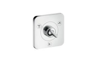 Axor Citterio E Trio/ Quattro shut-off/ diverter valve 120/120 for concealed installation  by  Axor