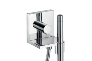 Axor ShowerCollection Hand shower module 120/120 Square for concealed installation  by  AXOR