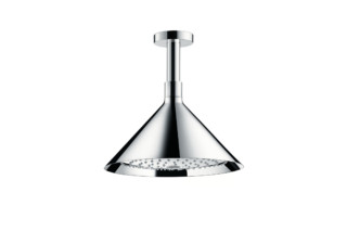 Axor Overhead shower 240 2jet with ceiling connector  by  AXOR