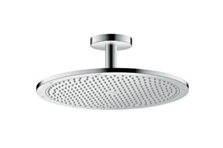 Axor overhead shower 350 1jet with ceiling connector  by  Axor