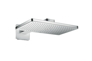 Axor overhead shower 460 / 300 1jet with shower arm and softcube escutcheons  by  AXOR