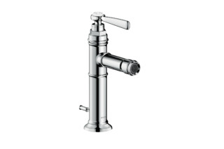 Axor Montreux single lever bidet mixer with pop-up waste set  by  AXOR