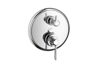 Axor Montreux zhermostatic mixer for concealed installation with shut-off/diverter valve and lever handle  by  Axor