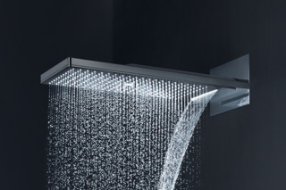 Axor overhead shower 250 / 580 3jet with shower arm  by  Axor
