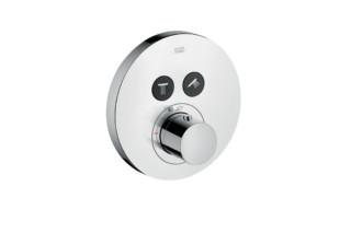 Axor Thermostat Round, für 2 Verbraucher, Unterputz  von  Axor