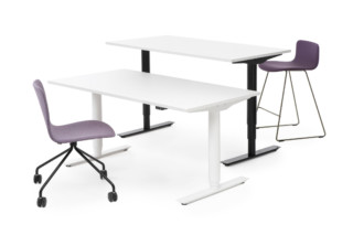 Alku Sit and Stand desk  by  Martela
