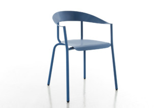 ALU MITU chair with armrests  by  conmoto