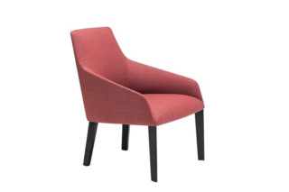 Alya lounge chair with 4-legged base low back  by  Andreu World