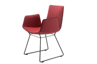Amelie armchair with wire frame  by  Freifrau