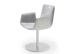 Amelie armchair with central leg  by  Freifrau
