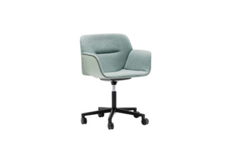 Nuez Chair with castors and swivel base  by  Andreu World
