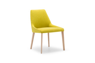 Alya chair wooden base  by  Andreu World