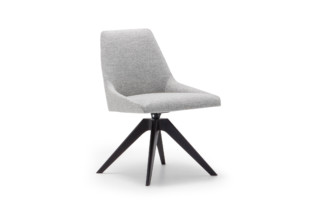 Alya chair wooden swivel base  by  Andreu World