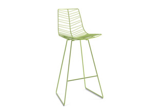 Leaf - bar stool  by  Arper