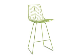 Leaf - counter stool  by  Arper