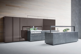 Artematica Structured lacquer Steel  by  Valcucine