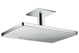 Axor overhead shower 460 / 300 2jet with ceiling connector  by  Axor