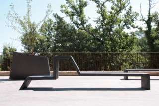 Eudald bench III  by  CYRIA