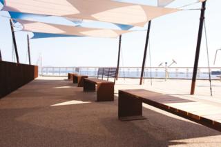 Manta Flat bench  by  CYRIA