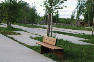 Monsieur bench  by  CYRIA