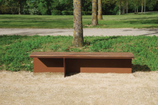 Monsieur bench without back rest  by  CYRIA