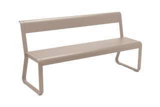 Bellevie bench with back  by  Fermob