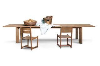 BRICK extendable table  von  Roda