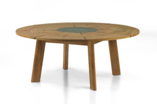 BRICK round table  von  Roda