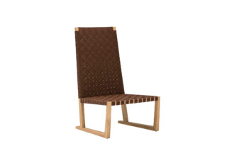 Serena armchair high  by  Andreu World