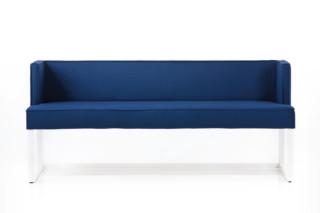 Belami bench with backrest  by  Brühl