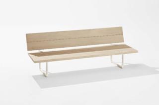 New Wood Plan Bank mit Rückenlehne  von  Fast