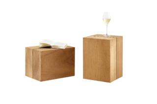 Blocc teak cube  by  solpuri