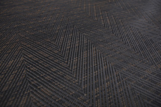 Graphic Herringbone Black  by  Bolon