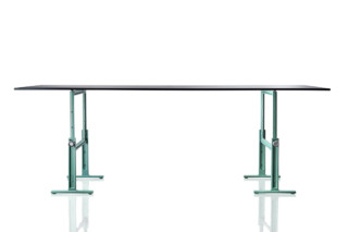 BRUT high adjustable table  by  Magis