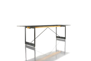 BRUT rectangular table  by  Magis