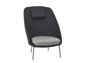 Twins Sessel mit hoher Rückenlehne Tricot C171T  von  Expormim