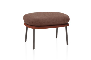 Twins footstool C176  by  Expormim