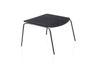 Lapala hand-woven footstool C590T  by  Expormim