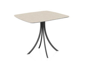Bistro Outdoor dining table stand with elliptical top C904 E  by  Expormim