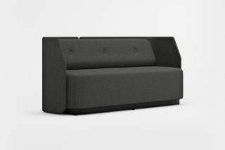 Fields easy chair/sofa with low back  by  Kinnarps